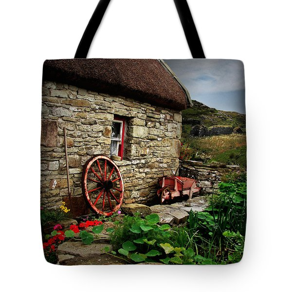 Cottage On The Moor Tote Bag