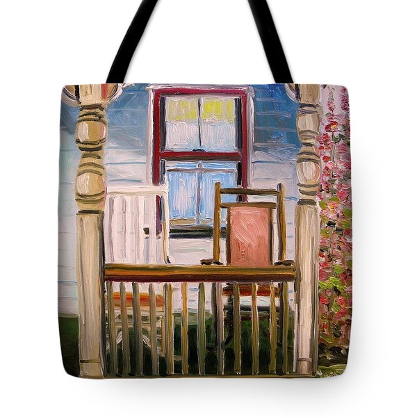 Cottage Rockers Tote Bag by John Williams