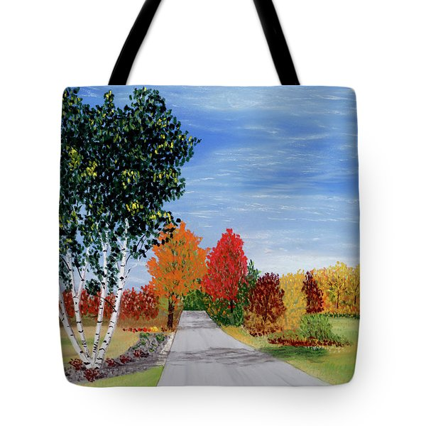 Cottage Row Tote Bag