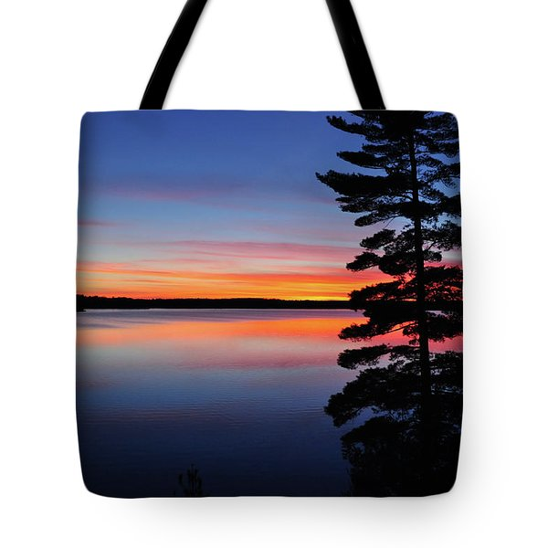 Cottage Sunset Tote Bag by Keith Armstrong