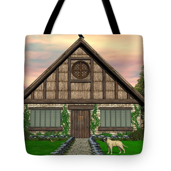 Cottage Tote Bag by Walter Colvin