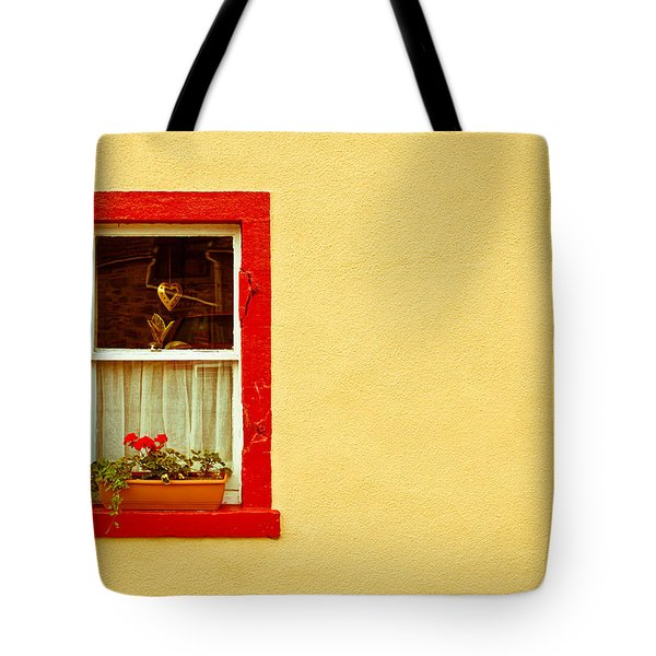 Cottage Window Tote Bag