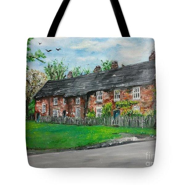 Cottages Tote Bag