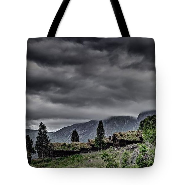 Cottages Tote Bag