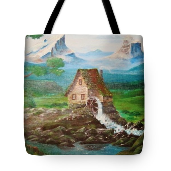 Cotten Jenny Tote Bag by Cathy Long