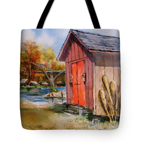 Cotter Shed Tote Bag