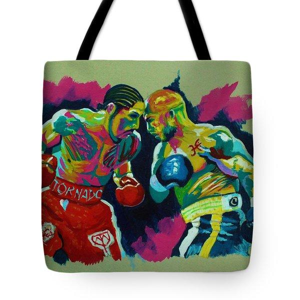 Cotto Vs Margarito Tote Bag