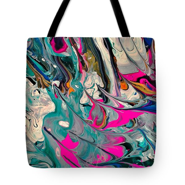 Cotton Candy Circus Tote Bag