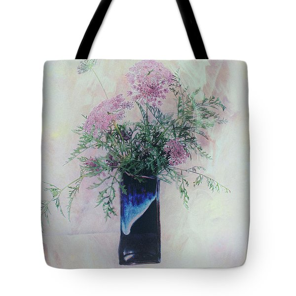 Tote Bag featuring the photograph Cotton Candy Dreams by Linda Lees