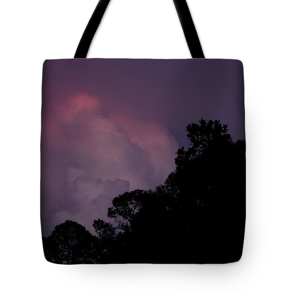 Cotton Candy Dusk Tote Bag