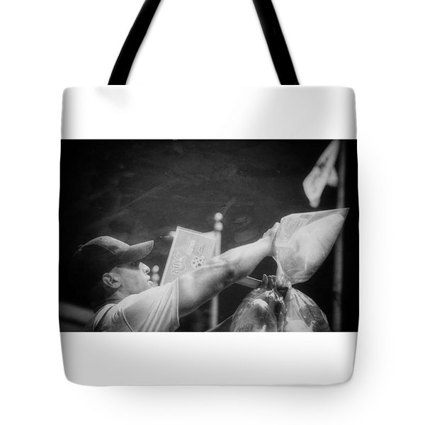 Cotton Candy Here Tote Bag