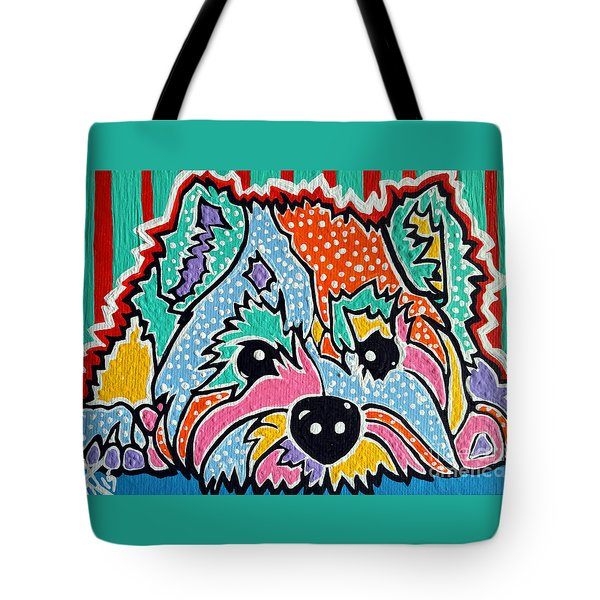 Cotton Candy Tote Bag by Jackie Carpenter