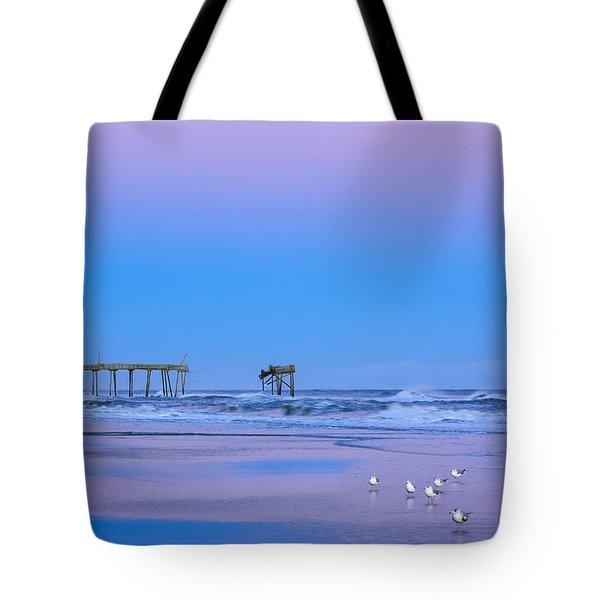 Cotton Candy Sunset Tote Bag by Joni Eskridge