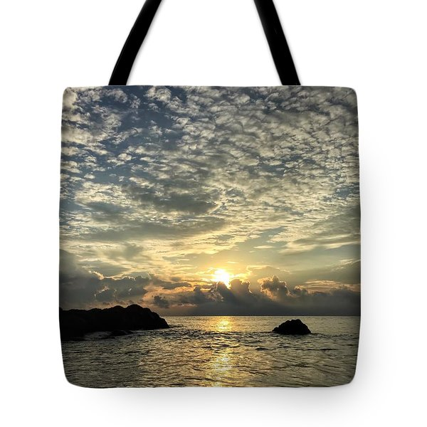 Cotton Clouds Tote Bag