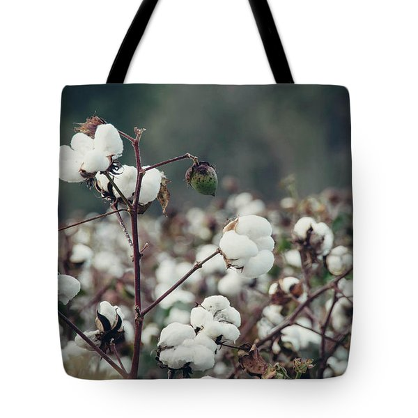 Cotton Field 5 Tote Bag