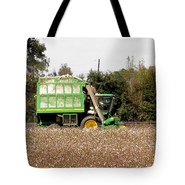 Cotton Picker Tote Bag