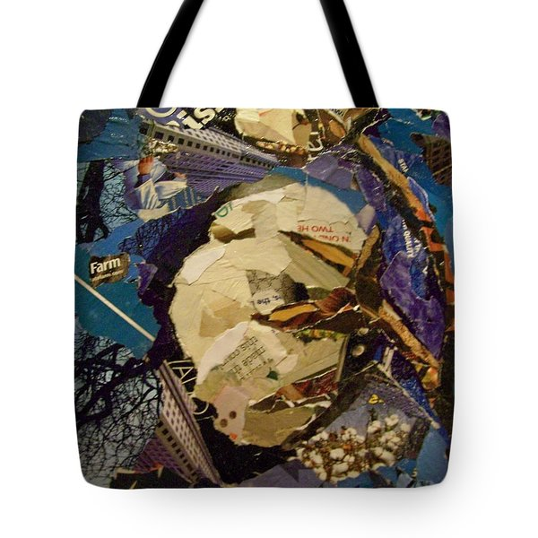 Cotton Rising Tote Bag by Debby Guelker