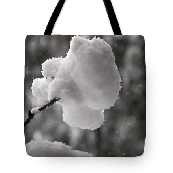 Cotton Snow Tote Bag