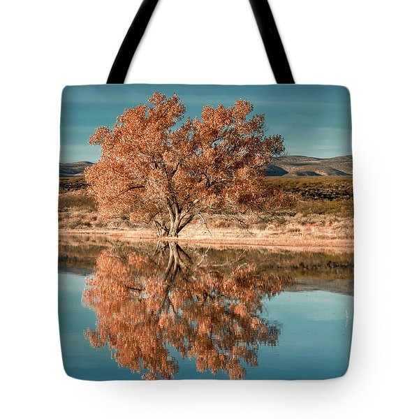 Cotton Wood Tree  Tote Bag