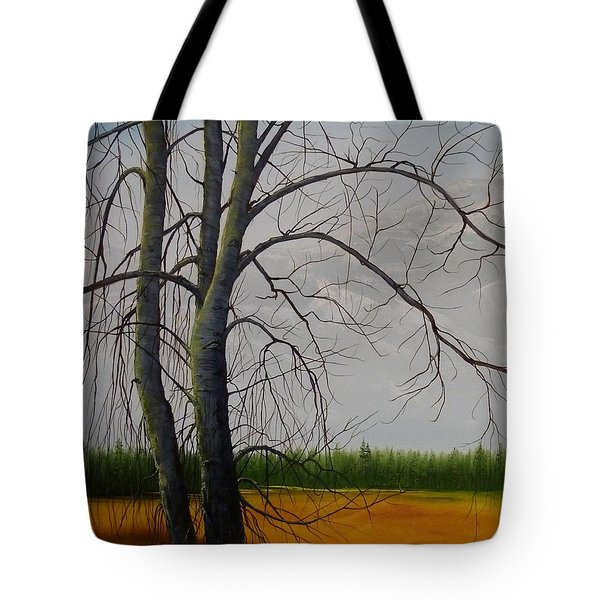 Cottonwoods Tote Bag