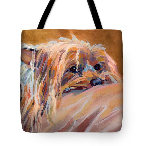 Couch Potato Tote Bag by Kimberly Santini