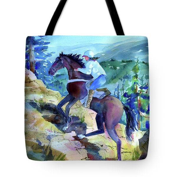 Cougar Rock Tote Bag