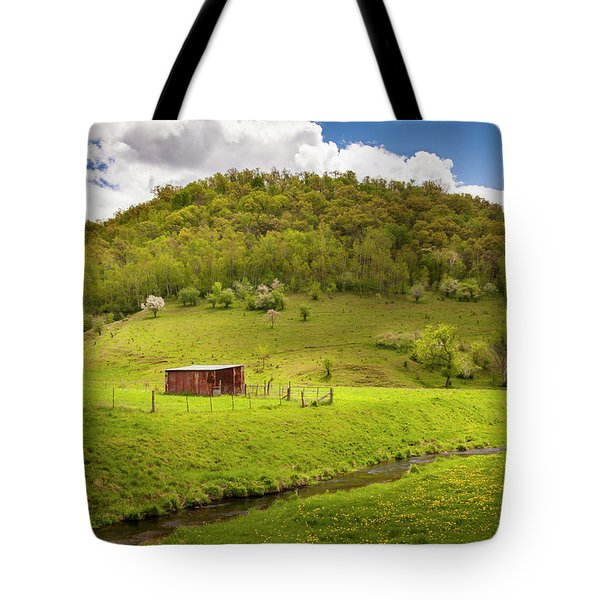 Coulee Morning Tote Bag