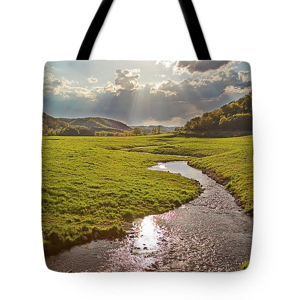 Coulee View Tote Bag