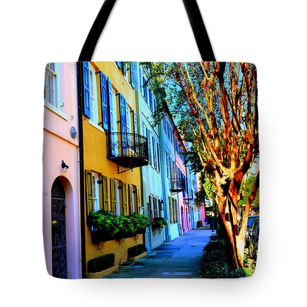 Tote Bag featuring the photograph Count Your Rainbows by Lisa Wooten