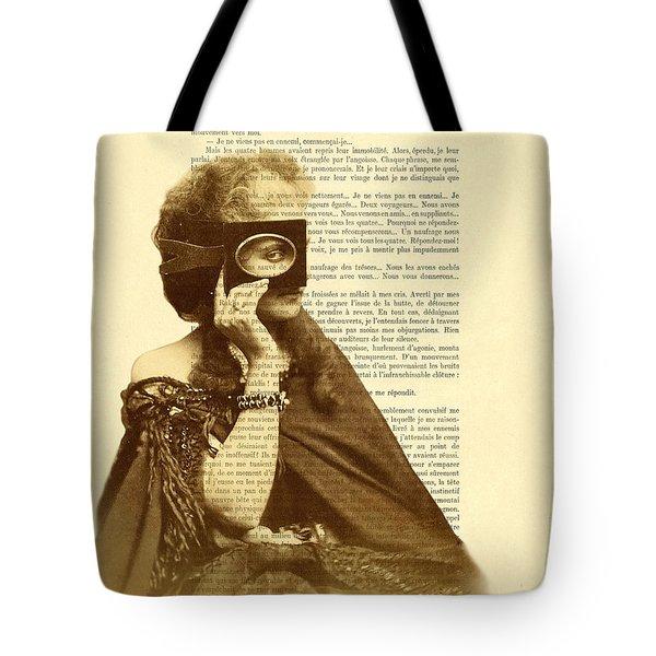 Countess Of Castiglione Tote Bag