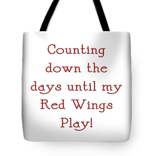 Counting The Days 1 Tote Bag by Andee Design