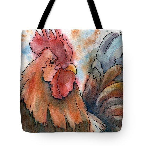Country Alarm Clock Tote Bag by Marsha Elliott