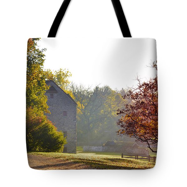 Country Autumn Tote Bag by Bill Cannon