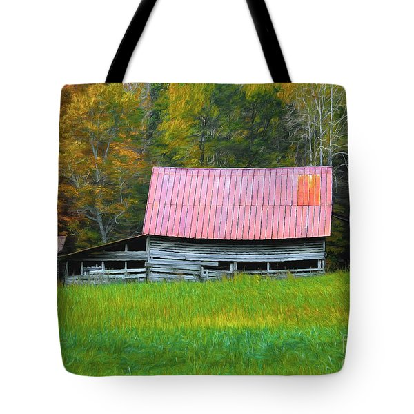Country Autumn  Tote Bag by Marion Johnson