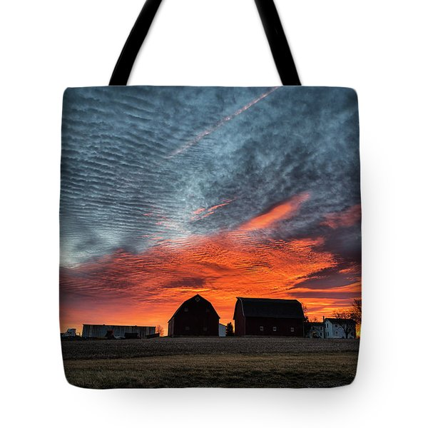 Country Barns Sunrise Tote Bag