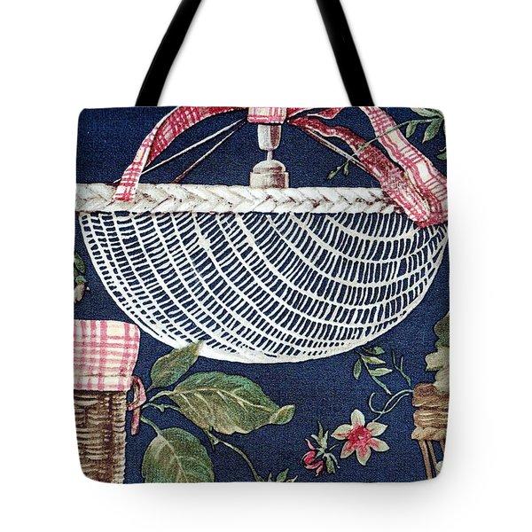 Country Basket Tote Bag