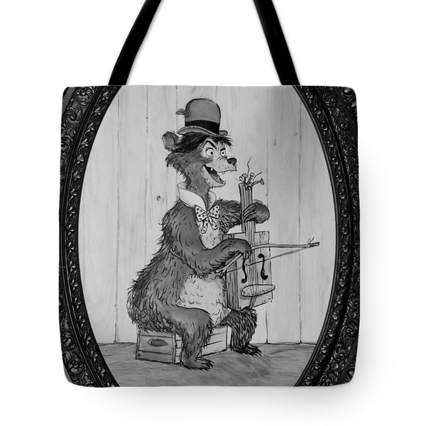 Country Bear Tote Bag by Rob Hans