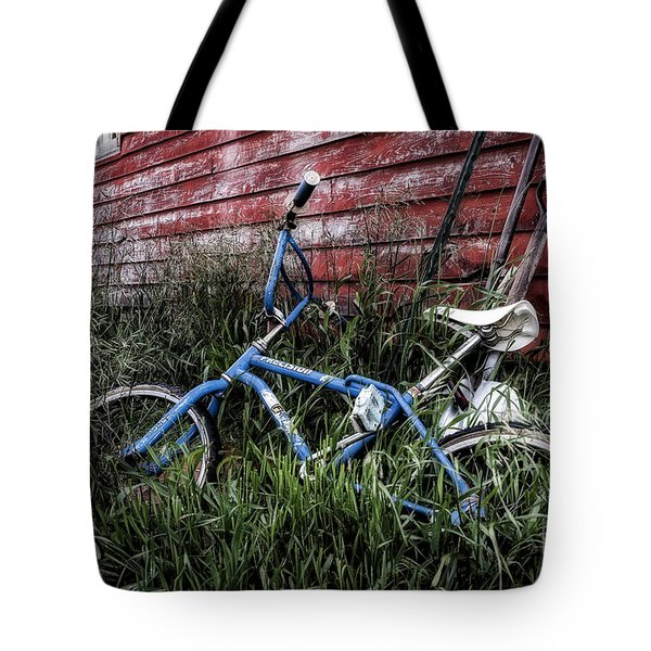 Tote Bag featuring the photograph Country Bicycle by Brad Allen Fine Art