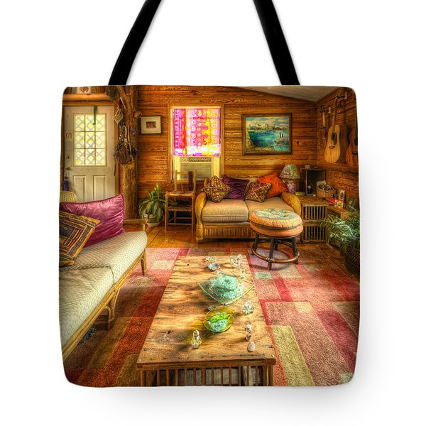 Country Cabin Tote Bag
