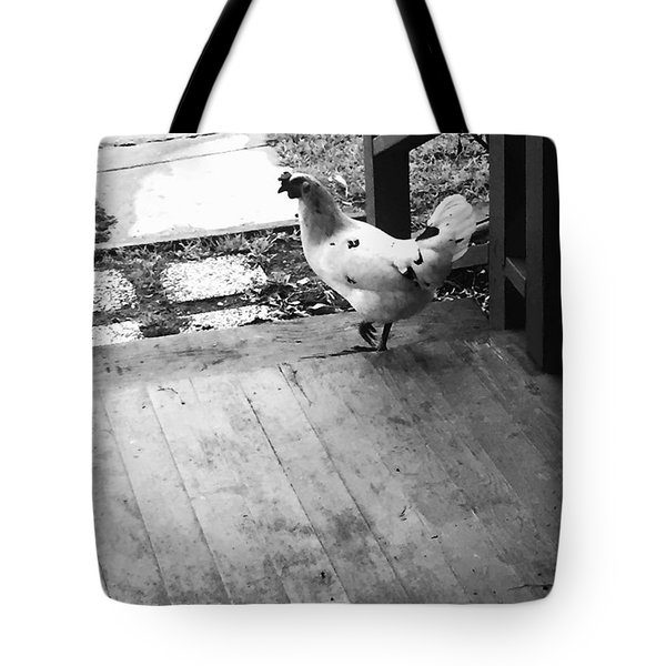 Country Chicken Tote Bag