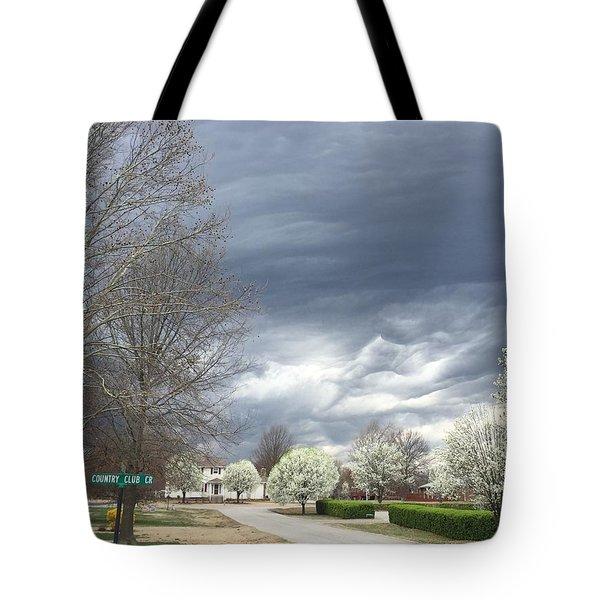 Country Club Circle Tote Bag