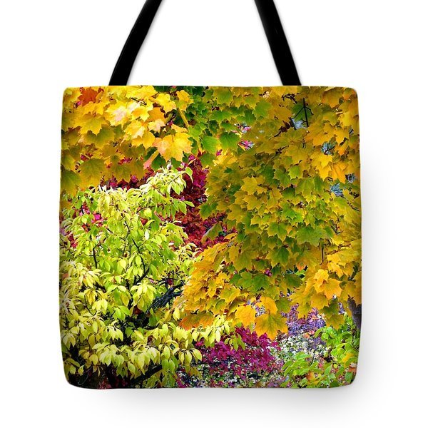 Country Color 15 Tote Bag by Will Borden
