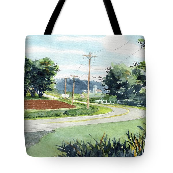 Country Corner Tote Bag