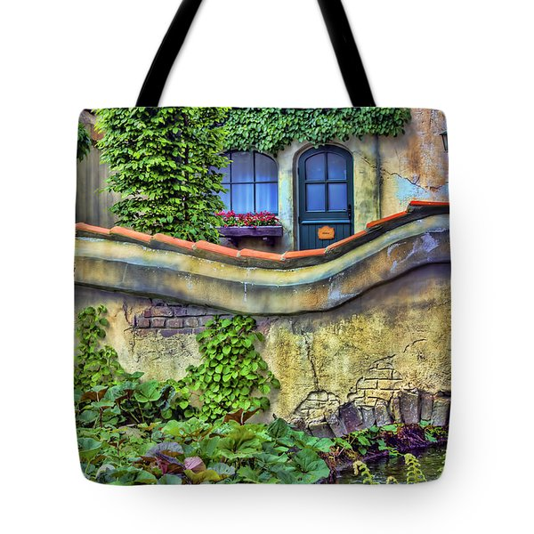 Country Cottage Tote Bag by Nadia Sanowar