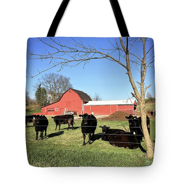 Country Cows Tote Bag