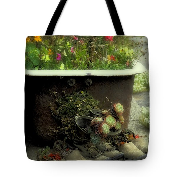 Country Day Spa Tote Bag by Kandy Hurley