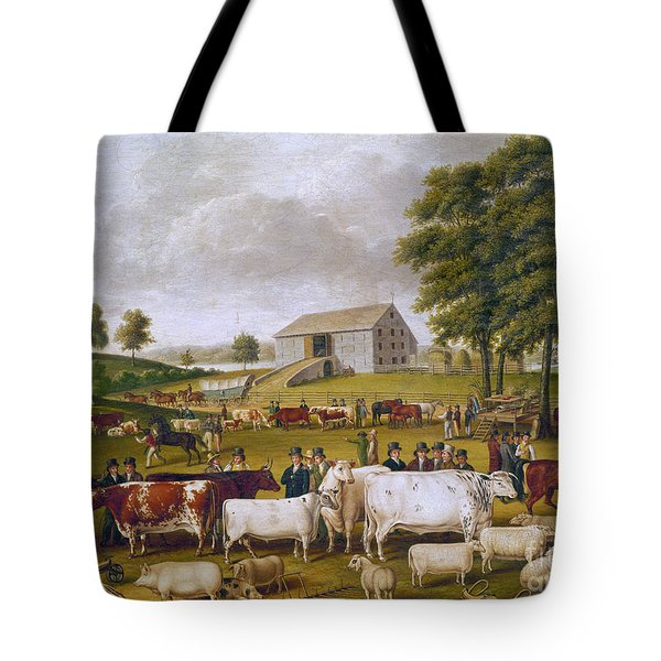 Country Fair, 1824 Tote Bag by Granger