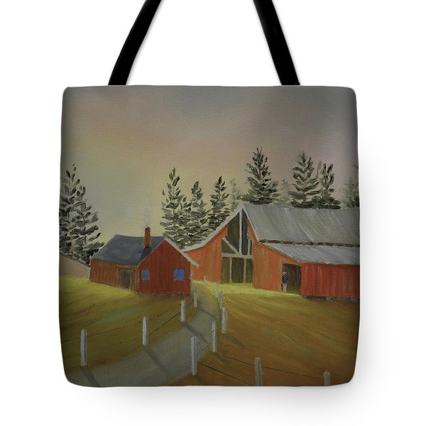 Country Farm Tote Bag