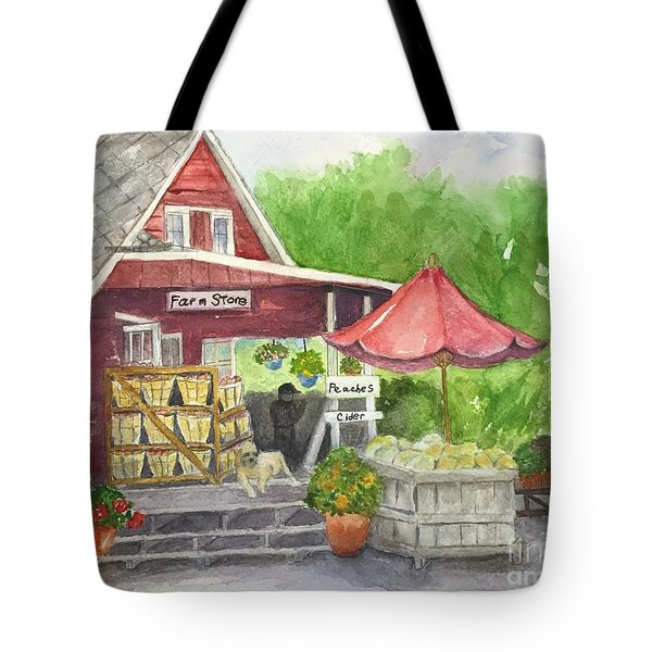 Country Farmer's Market Tote Bag