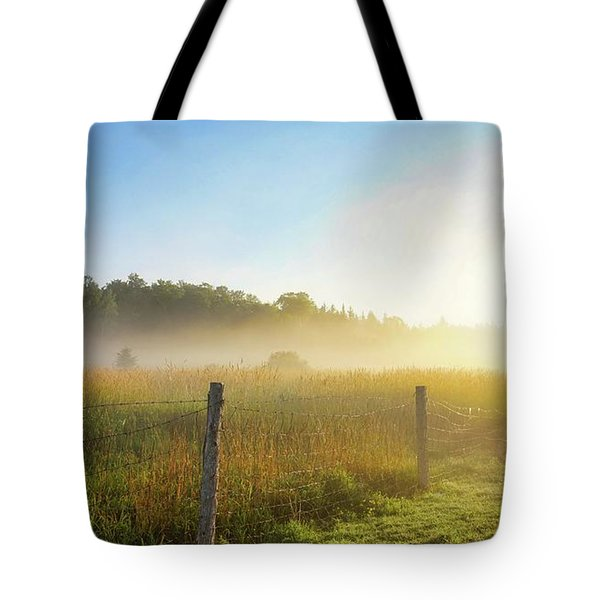 Country Fencerow Tote Bag